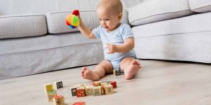Motor Skills Development in the Baby