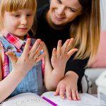 Left-handed Child